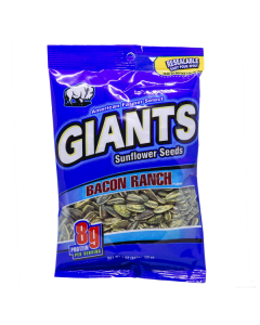 Giants Sunflower Seeds Bacon Ranch