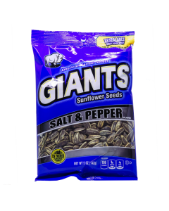 Giants Sunflower Seeds Salt and Pepper