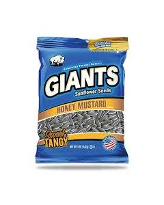 Giants Sunflower Seeds Honey Mustard