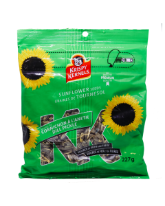 Krispy Kernels Sunflower Seeds Dill Pickle - MHD 16.09.20!